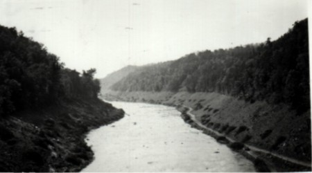 Little Tennessee River 1942 (Before Fontana Dam)
