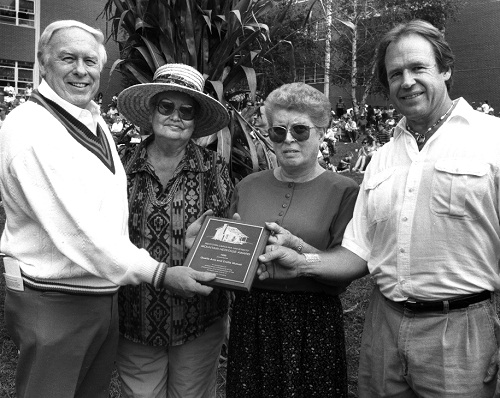 Recipients of the Qualla Arts and Crafts Mutual for the Mountain Heritage Award, 1992