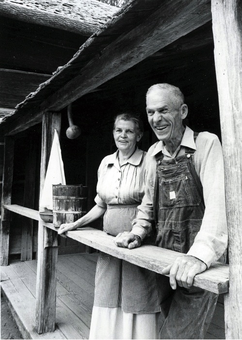 Henry Arvel Greene and Jane Patton Greene 1980